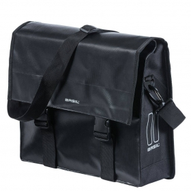 "Basil egy oldalas táska ""Urban Load Messenger Bag"", Hook ON, fek"